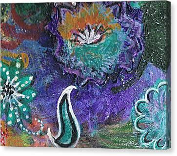 Whimsy Dance Canvas Print by Anne-Elizabeth Whiteway