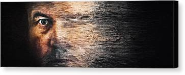 Whirlwind Of The Mind Canvas Print by Scott Norris