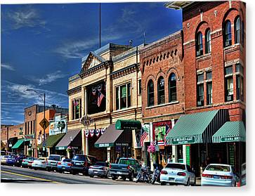 Whiskey Row - Prescott  Canvas Print by Saija  Lehtonen