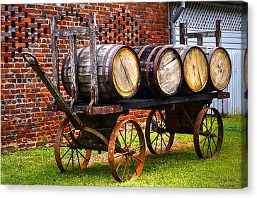 Whiskey Run Canvas Print by John Dauer