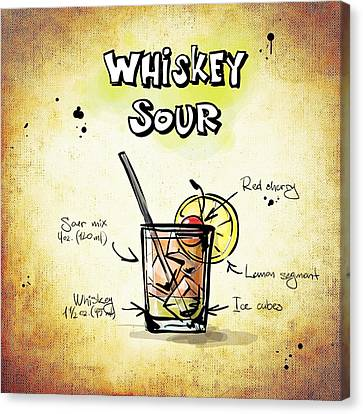 Whiskey Sour Canvas Print by Movie Poster Prints
