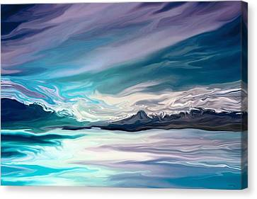 Whisper Canvas Print by Amanda Schambon