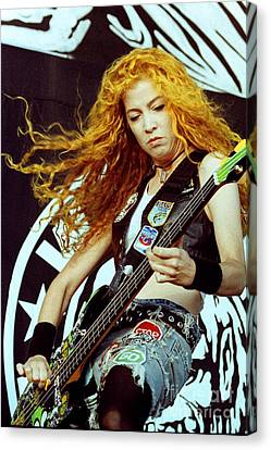 White Zombie 93-sean-0338 Canvas Print by Timothy Bischoff