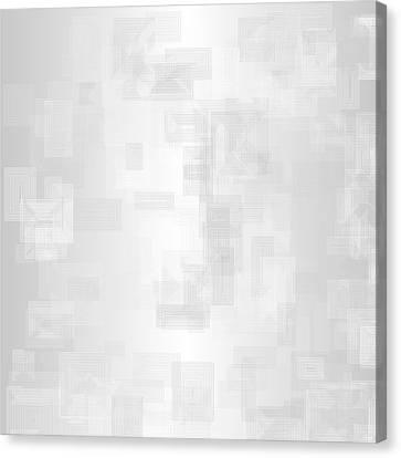 White.22 Canvas Print by Gareth Lewis