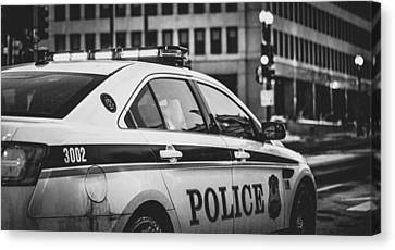 Whitehouse Police Cruiser Canvas Print by Mountain Dreams