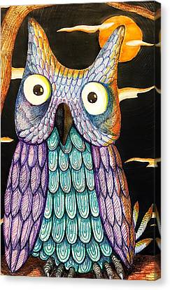 Whom? Canvas Print by Jame Hayes