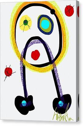 Whoopsie Canvas Print by Susan Fielder
