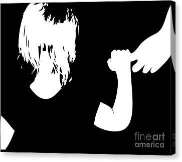 Why Canvas Print by Laura Brightwood
