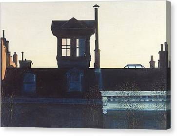 Widows Walk Brooklyn Heights Nyc Canvas Print by Anthony Butera