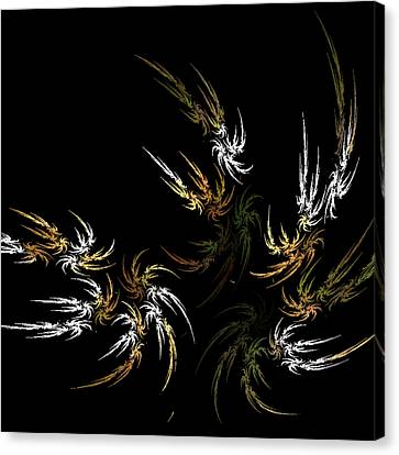 Wild And Free Canvas Print by Bonnie Bruno