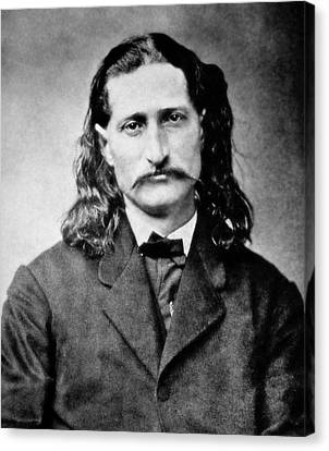 Wild Bill Hickok - American Gunfighter Legend Canvas Print by Daniel Hagerman