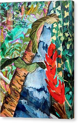 Wild Jungle Canvas Print by Mindy Newman