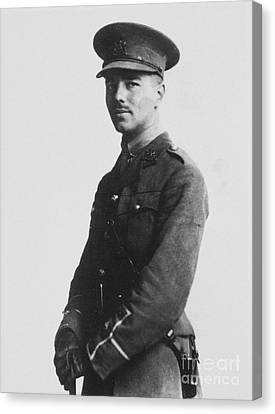 Wilfred Owen (1893-1918) Canvas Print by Granger