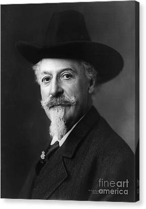 William Buffalo Bill Cody, American Canvas Print by Science Source