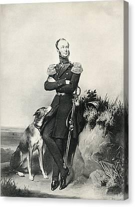 William II, Willem Frederik George Canvas Print by Vintage Design Pics