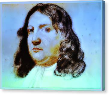 William Penn Portrait Canvas Print by Bill Cannon