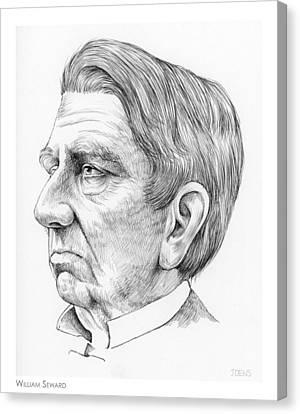 William Seward Canvas Print by Greg Joens