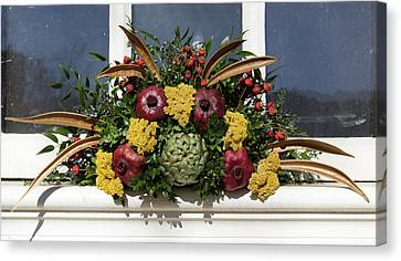 William Waters House Christmas Spray Canvas Print by Teresa Mucha