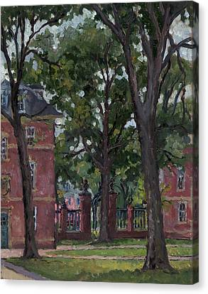 Williams College Frosh Quad Canvas Print by Thor Wickstrom