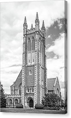Williams College Thompson Memorial Chapel Canvas Print by University Icons