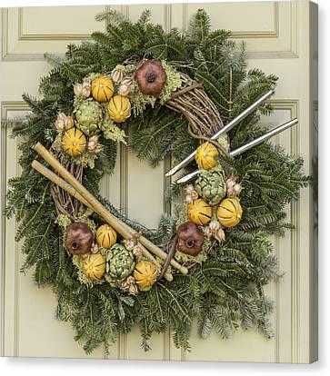 Williamsburg Wreath 16 Photograph By Teresa Mucha