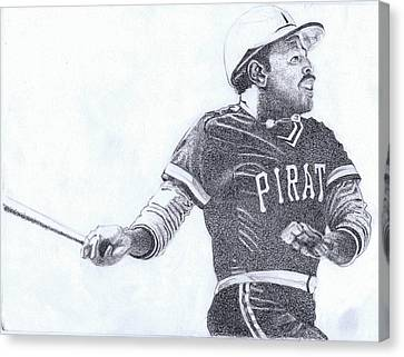 Willie Stargell Canvas Print by Paul Smutylo