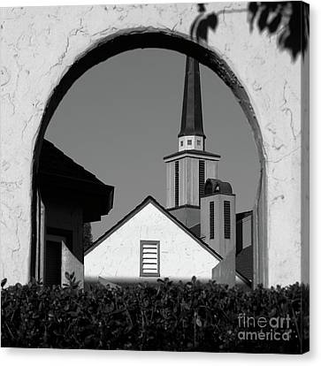 Window Arch Canvas Print by CML Brown