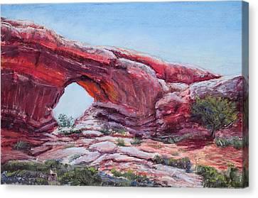 Window Canvas Print by Mary Benke