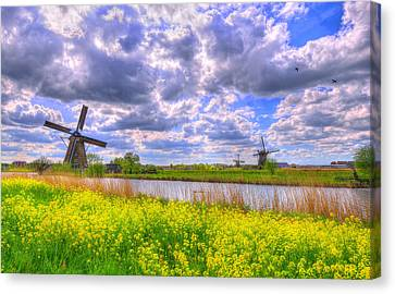 Window To Spring Canvas Print by Midori Chan