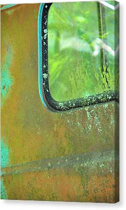 Window To The Past Canvas Print by Jan Amiss Photography