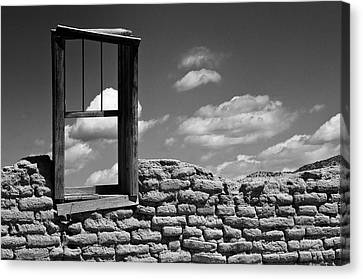 Window View Canvas Print by Carolyn Dalessandro