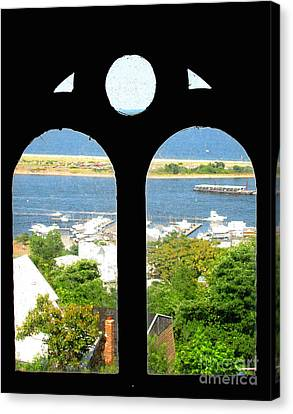 Window View Canvas Print by Colleen Kammerer
