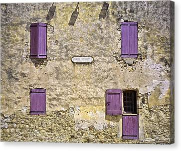 Windows And Doors 4 Canvas Print by Mark Coran