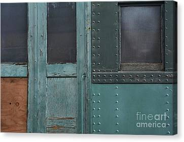 Windows And Doors Canvas Print by Dan Holm