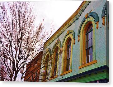 Windows Of Color Canvas Print by Jan Amiss Photography