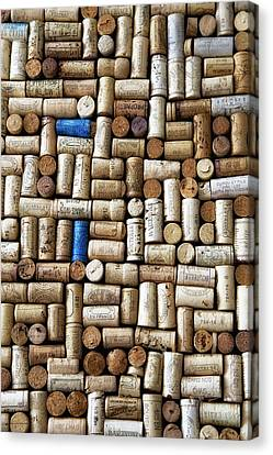Wine Corks Canvas Print by Georgia Fowler