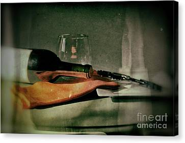 Wine Canvas Print by Jimmy Ostgard