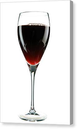 Wine Canvas Print by Michael Ledray
