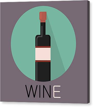 Wine Poster Print - Win And Wine Canvas Print by Beautify My Walls