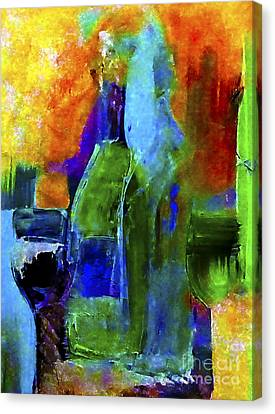 Winescape Canvas Print by Lisa Kaiser