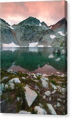 Wing Lake Canvas Print by Ryan McGinnis