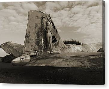 Wing Walk Canvas Print by RTP Fine Art Photography