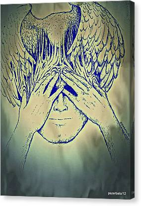 Wings To The Thoughts Canvas Print by Paulo Zerbato