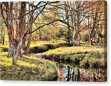 Winter Artistry Ap Canvas Print by Dan Carmichael