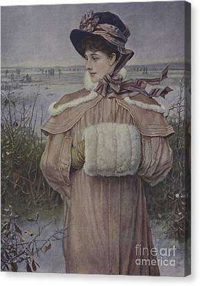 Winter Canvas Print by George Henry Boughton