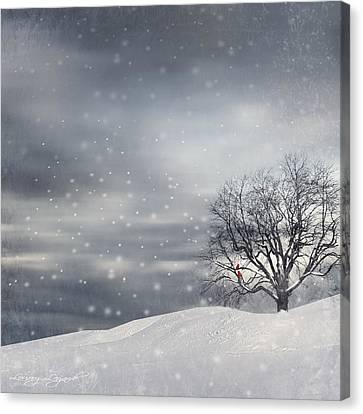 Winter Canvas Print by Lourry Legarde