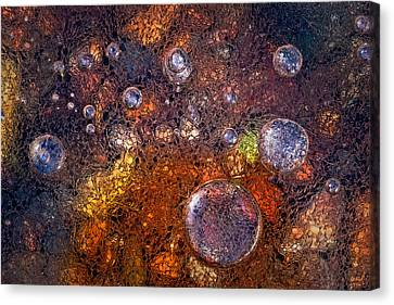 Winter Over Autumn Canvas Print by Paolo Giudici