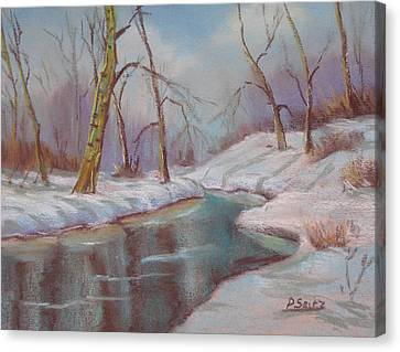 Winter Solstice Canvas Print by Patricia Seitz