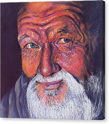 Wisdom Canvas Print by Curtis James