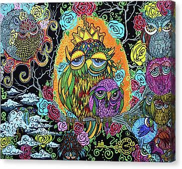Wisdom Tree Canvas Print by Laura Barbosa
